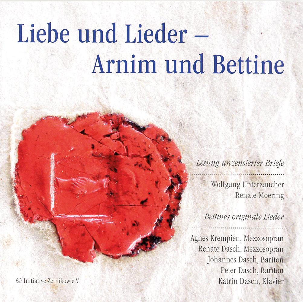 Liebe und Lieder - Arnim und Bettine cover