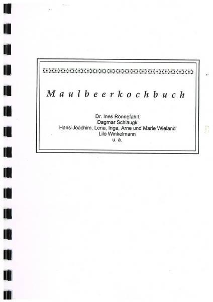 Maulbeerkochbuch