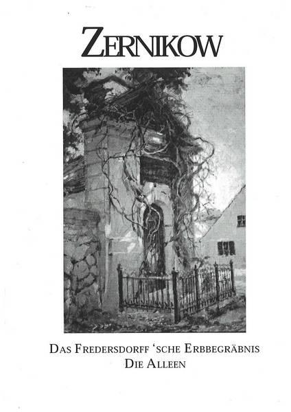Zernikow - die Alleen und das Erbbegräbnis